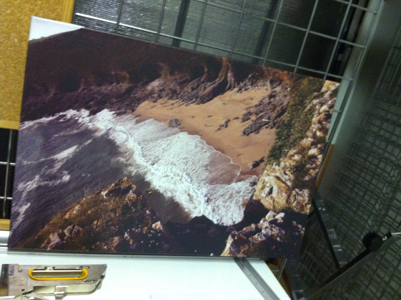 24x16inch Fall Bay canvas. Shop stock clearance. Usually £80. SALE £40
